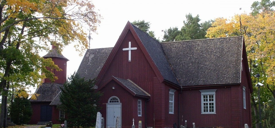 Urkujuhlien risteily Merimaskun kirkkoon