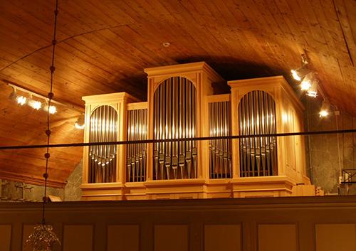 Marimaskun kirkon urut